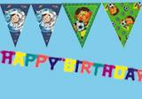 Geburtstags-Girlanden und Wimpelketten
