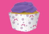 Muffinförmchen mit Motto-Motiven für Kinder