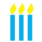 Kerzen-Symbol
