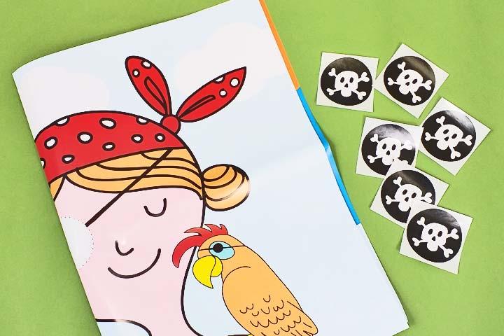 Piraten-Wandspiel für den Kindergeburtstag
