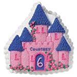 Geburtstagskuchen in Form eines Schlosses