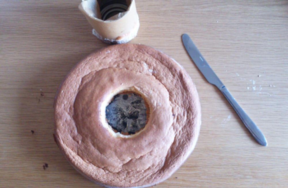 Gebackener Pinata-Kuchen