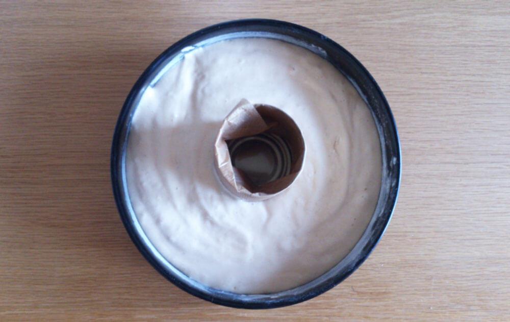 Pinata-Kuchen in Backform