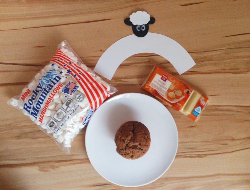 Zutaten für die Schaf-Muffins