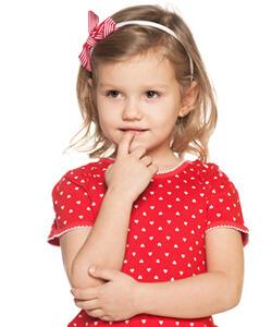 Siebenjähriges Kind - Mädchen
