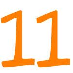 Zahlensymbol 11