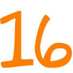 Zahlensymbol 16