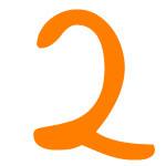 Zahlensymbol 2