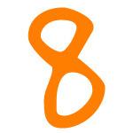 Zahlensymbol 8
