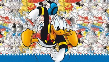 Lustiger Donald Duck Geburtstag Zubehör Deko