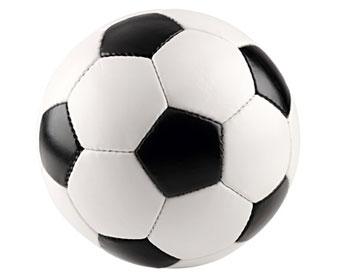 Fußball aus Leder
