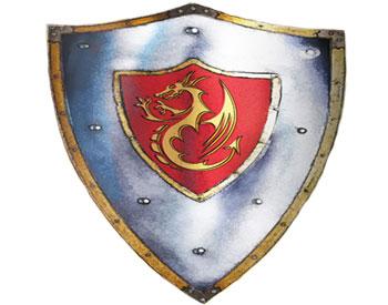 Ritterwappen mit Drachensymbol