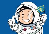 Kleiner Astronaut