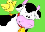 Geburtstagsfeier mit Bauernhof-Tieren