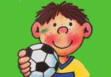 Kindergeburtstag mit Fußballer Fritz Flanke
