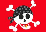 Kindergeburtstag mit Piraten-Motto