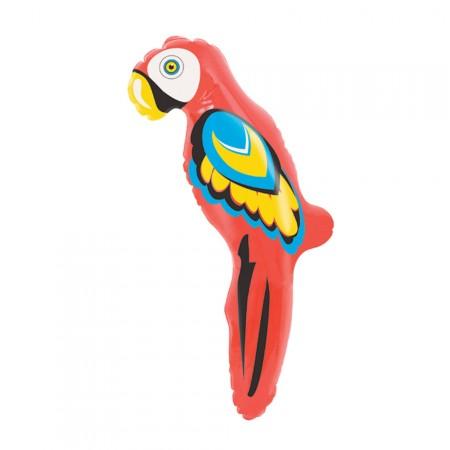 Aufblasbarer Deko-Papagei