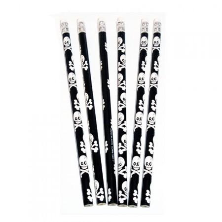 Piraten-Bleistifte mit Totenköpfen