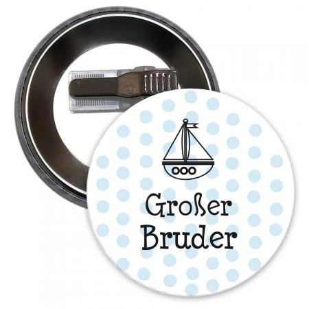"""Button mit Motiv """"Großer Bruder"""""""