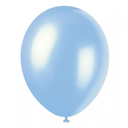 Hellblauer Luftballon