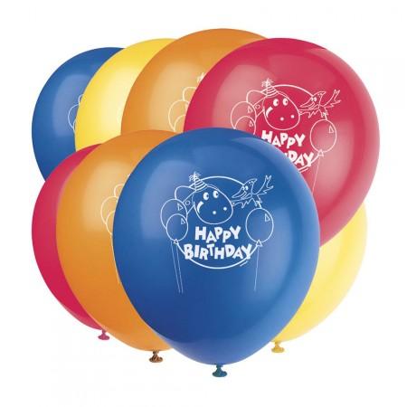 Luftballons Dino-Freunde