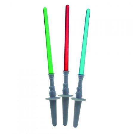 Muffindekoration Lichtschwerter