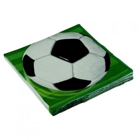 Servietten mit Fußball-Motiv