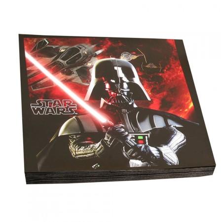 Star Wars Party-Servietten mit Darth Vader