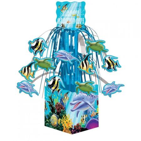 Tischdeko Delfin-Party