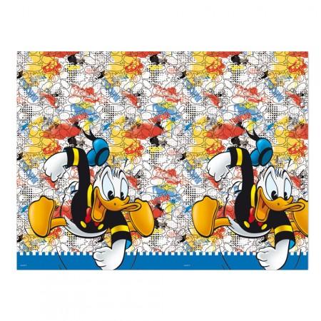 Tischdecke mit Donald Duck