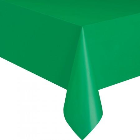 Grüne Party-Tischdecke