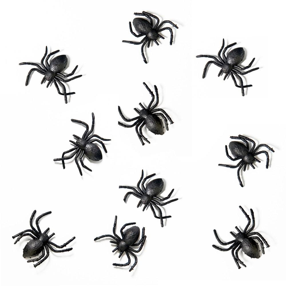 kleine deko spinnen f r die gruselparty. Black Bedroom Furniture Sets. Home Design Ideas