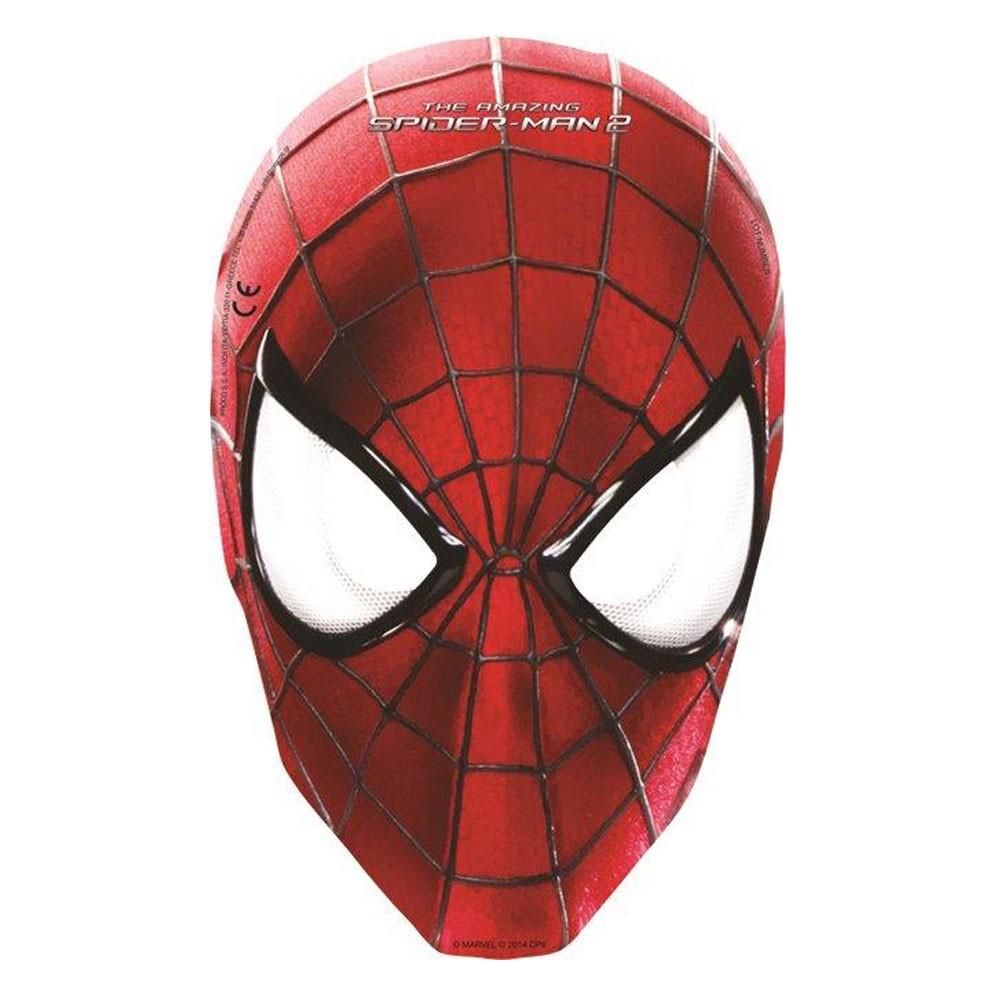 Как сделать маску человек паука