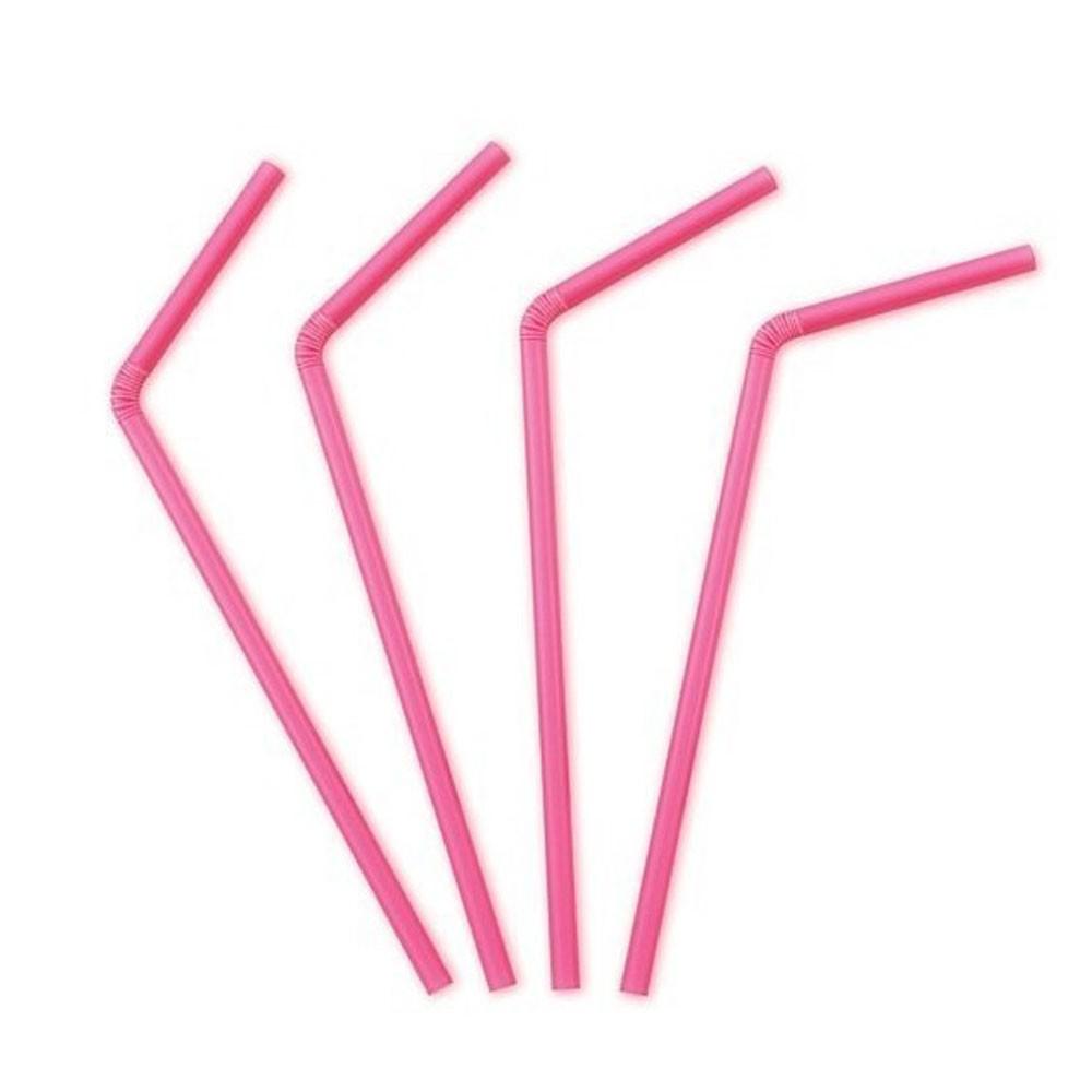 Strohhalme In Pink