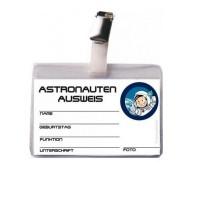 Spielzeug-Astronauten-Ausweis mit Clip