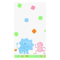 Baby Shower Tischdecke mit kleinen Zoo-Tieren