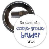 """Button mit Aufdruck """"Cooler Großer Bruder"""""""