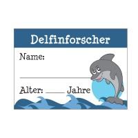 Delfinforscher-Ausweis für Kinder