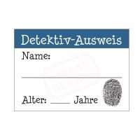 Detektiv-Ausweis für Kinder