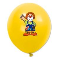 Kindergeburtstag-Luftballons mit bunten Figuren