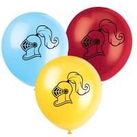 Luftballons Ritterhelm