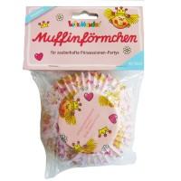 Muffinförmchen mit Prinzessinnen-Motiv