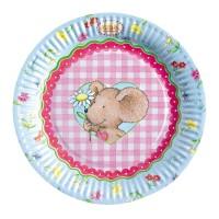 Kindergeburtstag-Teller mit Lillebi-Motiv