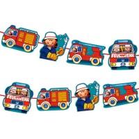 Feuerwehr-Party Deko-Girlande