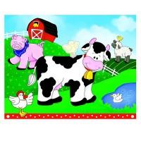 Kinder-Partyspiel mit Bauernhof-Tieren