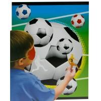 Kinder-Partyspiel mit Fußball-Motiv