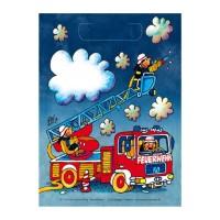 Partytütchen mit kleinem Feuerwehrmann