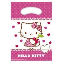 Partytüten mit Hello Kitty-Motiv