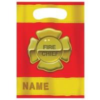 Partytütchen mit Feuerwehr-Emblem