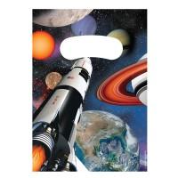 Mitgebseltüten für die Weltraumparty